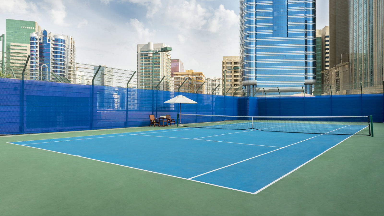 Tennis at Sheraton Abu Dhabi Hotel & Resort